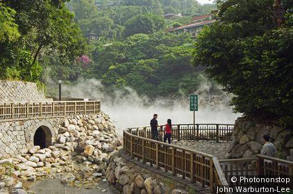Taiwan;Taipei;Peitou - Taipei (Beitou) geothermal valley