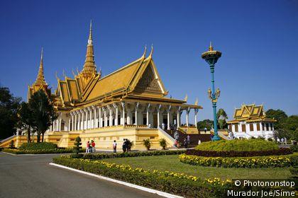Cambodge, Phnom Penh, Phnom Penh, Asie du Sud-Est - Royal Palace