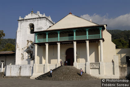 Guatemala, lac Atitlàn, Santiago de Atitlàn, l'église Santiago Apostol