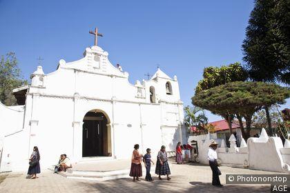Guatemala, Alta Verapaz, Coban, chapelle