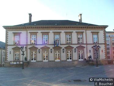 L'hôtel de ville