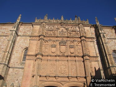 Le sublime portail de l'Université est l'un des symboles de Salamanque.