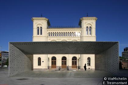 Le bâtiment dédié aux Prix Nobel de la paix est situé à Akker Brygge.