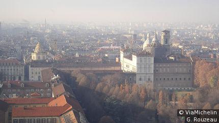 Vue de Turin depuis la Mole