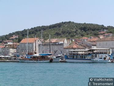 Trogir est classée au patrimoine mondiale de l'Unesco
