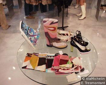 L'une des boutiques de mode réputées de Milan