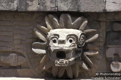 Teotihuacán: Templo de Quetzalcóatl