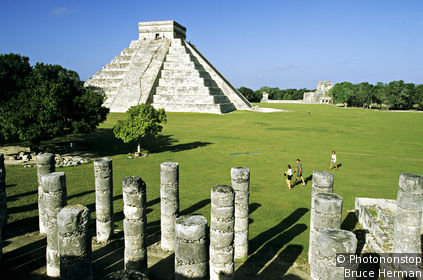 Chichén Itzá: Group of the Thousand Columns
