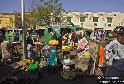 Marchés de Bamako