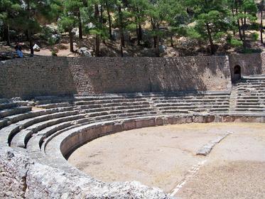 Le stade de Delphes