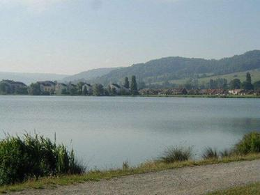 Badsjön nära Vesoul