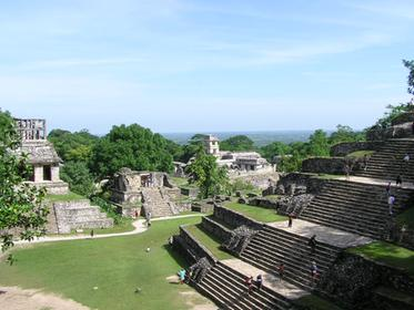 Palenque Site: Cross Group