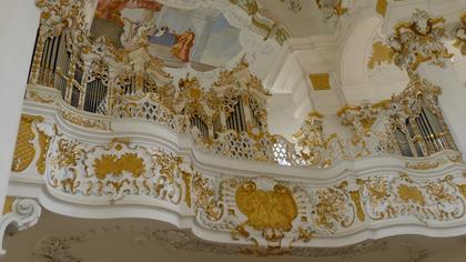 Intérieur église de Wies