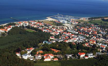 Kuhlungsborn from the air
