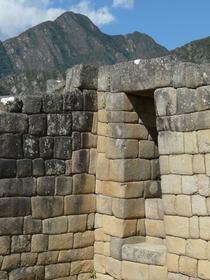 Urban sector of Machu Picchu