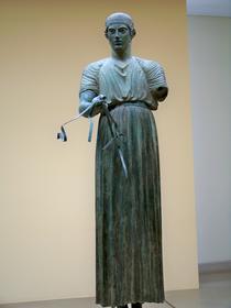 Musée de Delphes : l'Aurige de Delphes