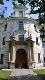 Portail d'entrée - Bâtiments abbatiaux d'Ottobeuren