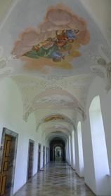 Intérieur des bâtiments abbatiaux d'Ottobeuren