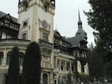 Château de Peles à Sinaia.