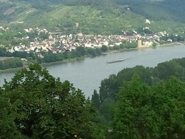 Ausblick von der Marks Burg