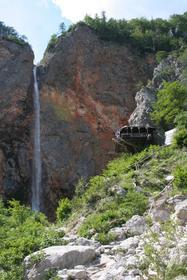 Vallee de la Logarska, chute de Rinka