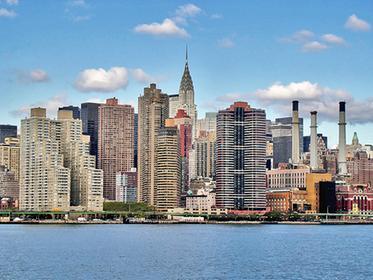 Vista del Midtown desde el East River