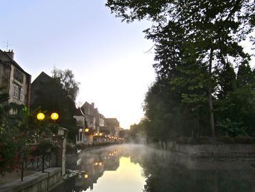 l'aube de Canal