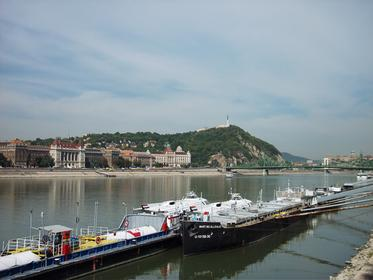 Gellert Hill from the Danube River