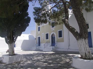 Placette de Chora à Amorgos