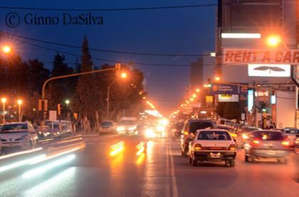 Puerto Madryn at night