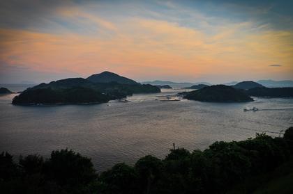 sunset namhae