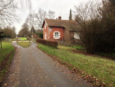 Neufchâtel-en-Bray - La Voie Verte, Ancienne maison de garde barrière