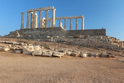 Cap Sounion : le temple d'Apollon