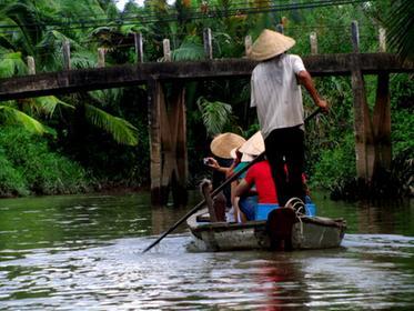 Mekong Delta, Bootsausflug