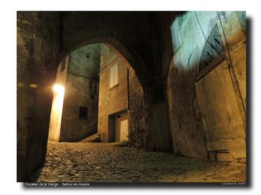 Escalier de la Vierge - Tour de l' Orle d'Or
