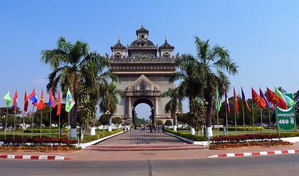 Patuxaï ou Arc de Triomphe