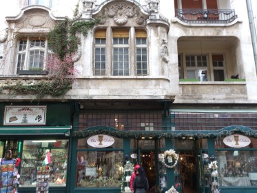 Váci Street - Beautiful architecture / alluring shops
