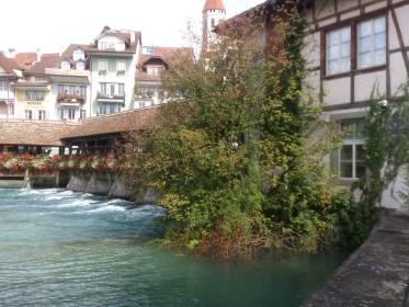 Thun - Old Town - Aare/Untere Schleuse