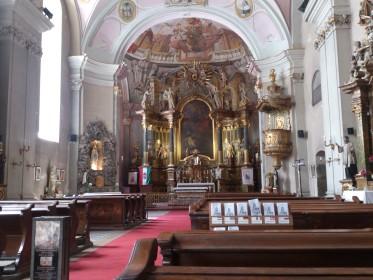 Váci u. 47/b - Római Katolikus Templom - Belvárosi Szent Mihály Templom