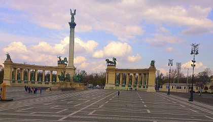 Budapest - Hősök tere (Heroes' Square)