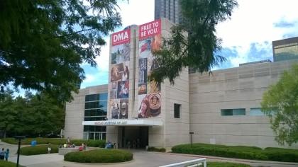 Le musée vu de l'extérieur
