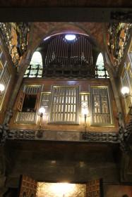A l'intérieur du palais