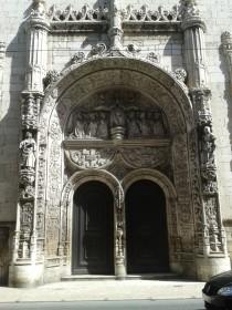 Le portail, seul vestige