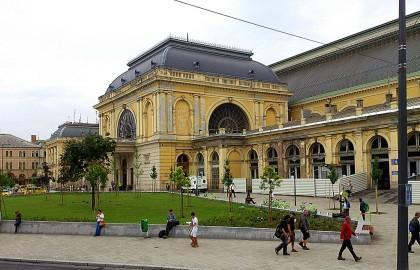 Keleti pályaudvar - Eastern Railway Station