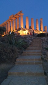 Agrigento - Temple de la Concorde - by night