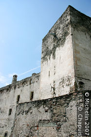 Fortified town walls