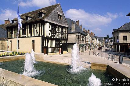Old Houses of Aubigny-sur-Nère