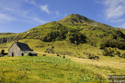 Cantal mountains