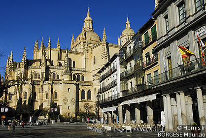 Plaza Mayor of Segovia