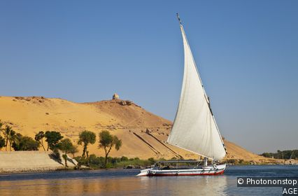 Felucca trip on the Nile